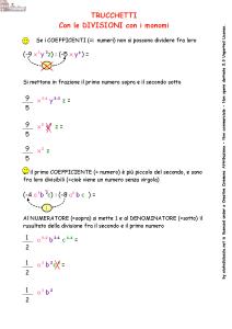 regole matematiche