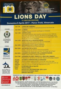 programma Lions day 2017