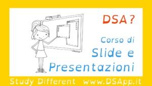 Corsi DSA slide presentazione tesina
