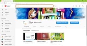 Canale YouTube DSApp