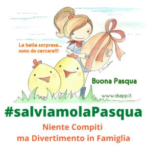 #salviamolaPasqua